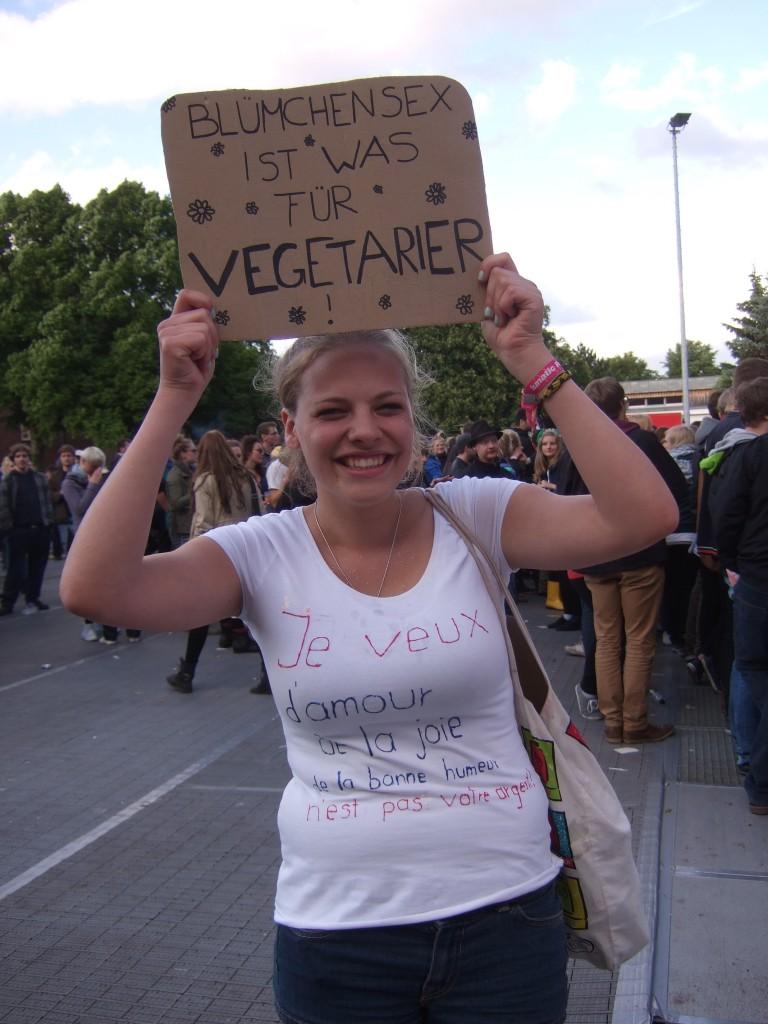 Blümchensex und Vegetarier