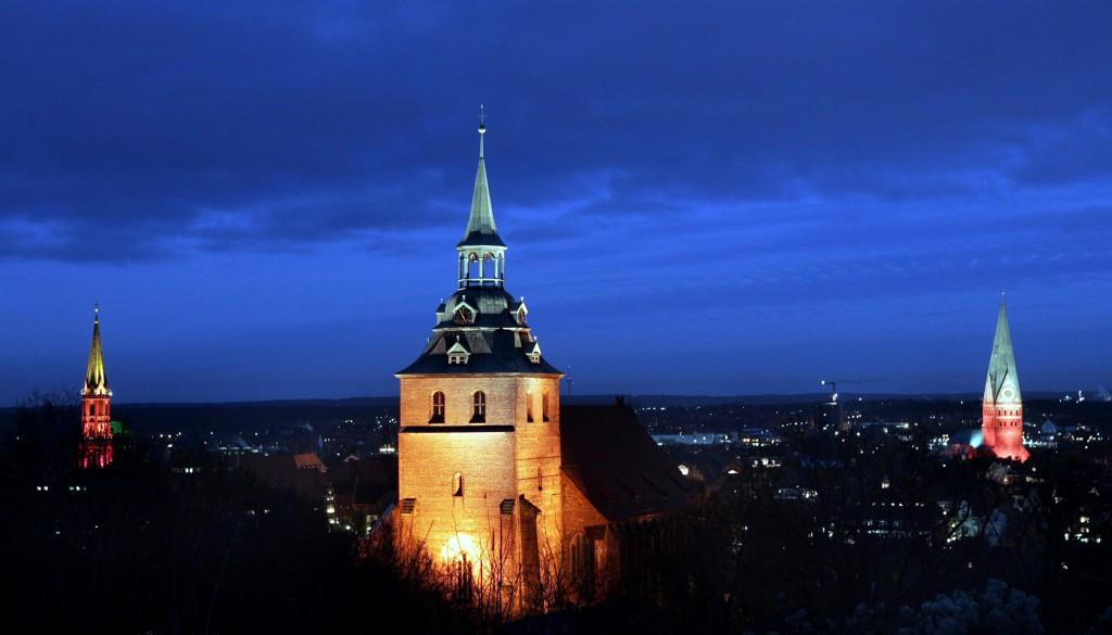 Weihnachtszeit in Lüneburg: die Salzstadt leuchtet