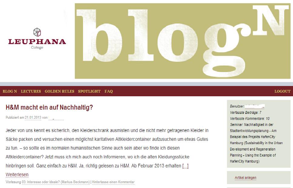 """Blog N 12/13 – Der Blog zum Modul """"Wissenschaft trägt Verantwortung"""""""