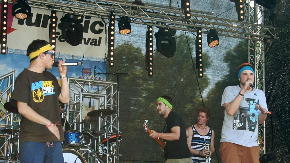 Mundwerk Crew: Lässige Bayern eröffnen lunatic Festival 2013