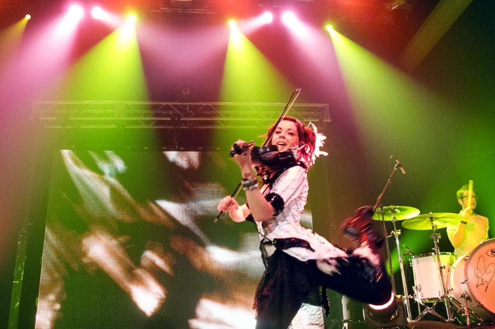 Lindsey Stirling im Stadtpark – von Youtube auf die Bühne