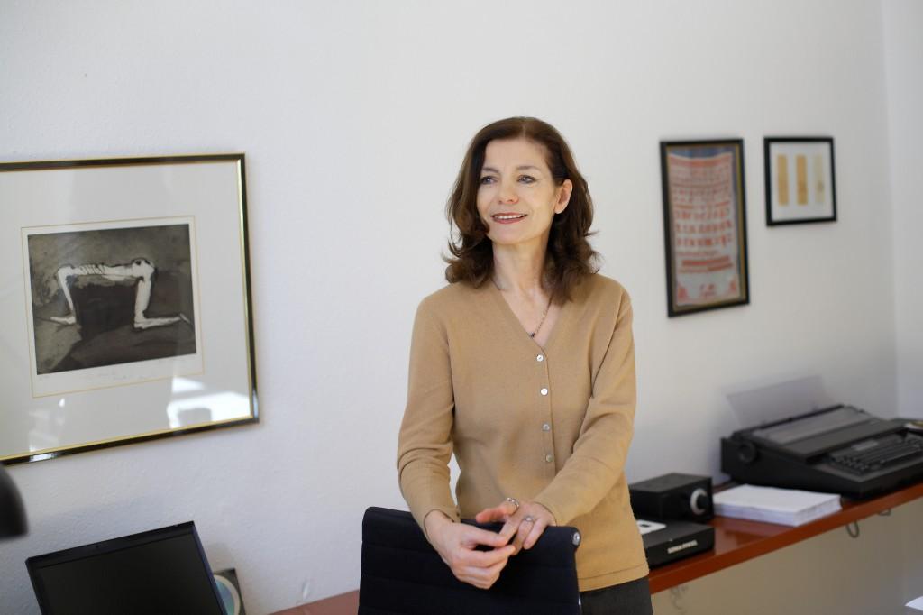 Ursula Krechel besucht die Leuphana