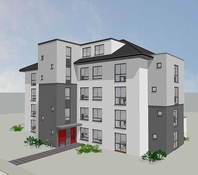 55 neue Appartements für Studierende