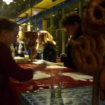 Auch für Speis und Trank war gesorgt / (c) Foto: Pia Köber