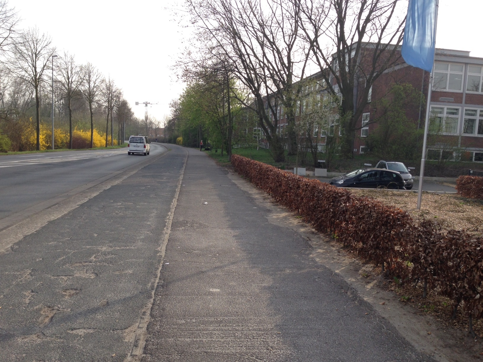 Hier wird eine neue Doppel-Bushaltestelle entstehen