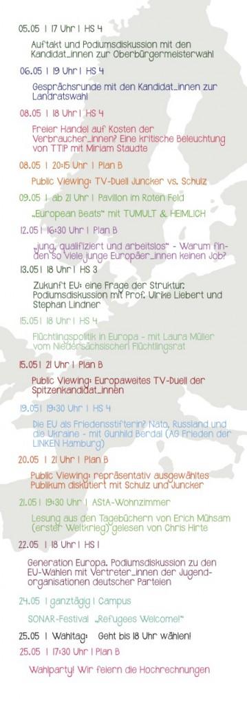 Wahl in Lüneburg – Veranstaltungsreihe