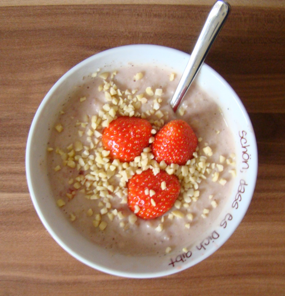 Heute jibbet: Porridge