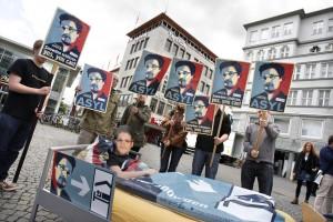 Ein Bett für Snowden im AStA? Hier ein Beispiel aus Bielefeld.
