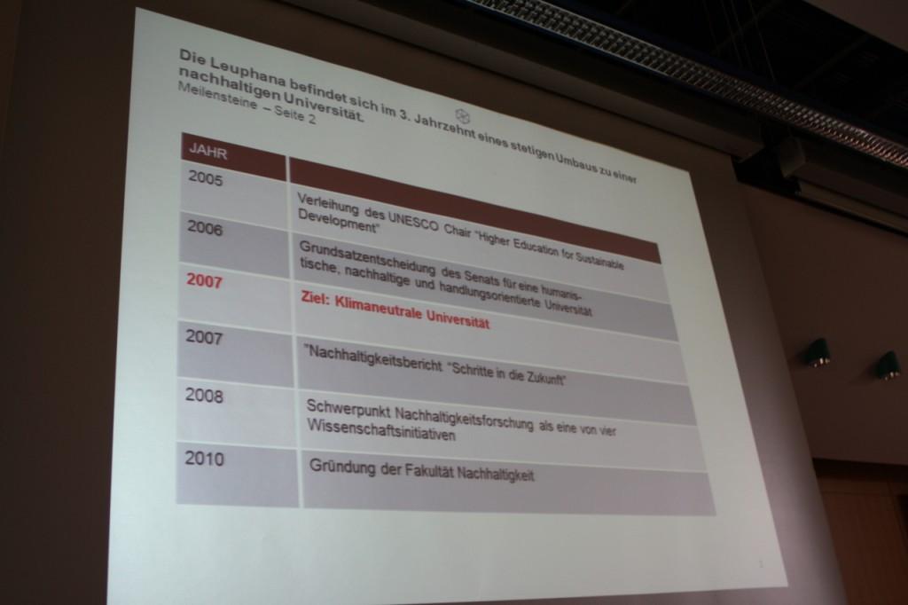 Nachhaltige Campusentwicklung – Informationsveranstaltung am 10.06.