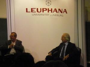 Harald Schmidt an der Leuphana / (CC) Carina Stelter