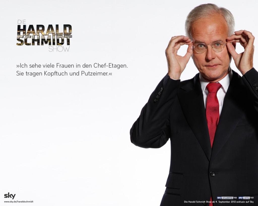 """""""Die fetten Jahre sind vorbei!"""" – Harald Schmidt im Gespräch über die Zukunft des deutschen Fernsehens"""