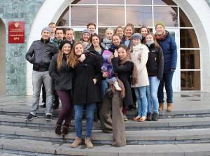 Immer gut gelaunt: Unsere Reisegruppe / (C) R. Chudaska