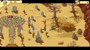 Screenshot aus dem Spiel Westerado / (C) Andre Zwetkow
