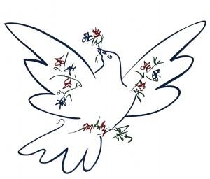 Picasso Friedenstaube / (CC) Lucas Wirl