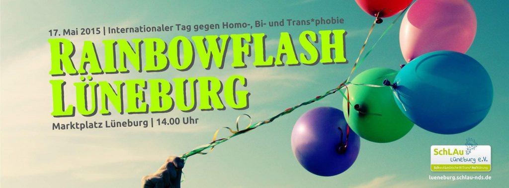 Rainbowflash Lüneburg: Am Sonntag wird es bunt!