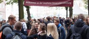 Die Startwoche 2014 / (C) Leuphana Universität Lüneburg - via Facebook