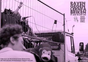 Aufruf zur Demo am 17.06. / (C) AStA Uni Lüneburg, Lernfabriken ...meutern! - via Facebook