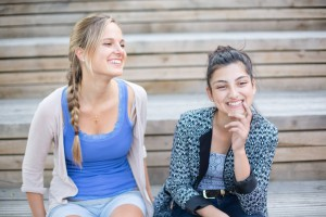 Mentoring Paar Melanie & Denisa / (C) ROCK YOUR LIFE! Lüneburg e.V.