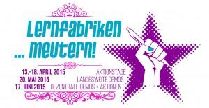 """Die Kampagne """"Lernfabriken ...meutern!"""" / (C) Lernfabriken ...meutern! - Facebook"""