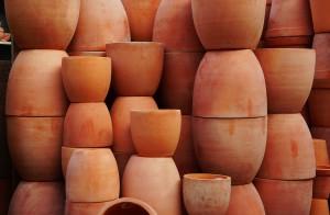EIn Haufen Pot als Bastelnachschub / (C) flickr - eLKayPics