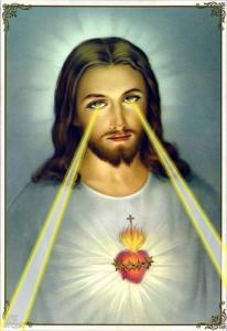 Jesus sieht alles! / (C) flickr - stalllo