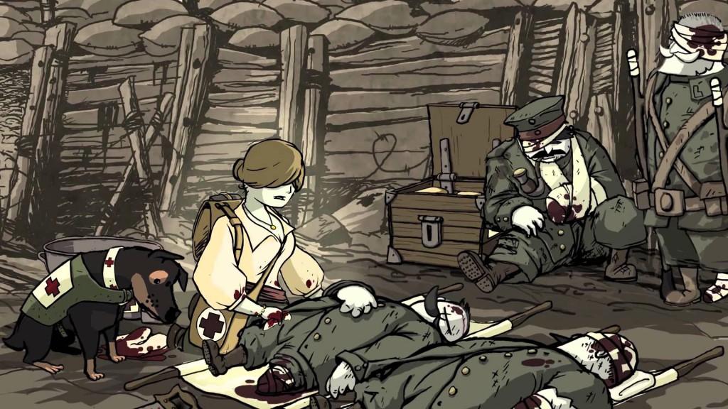 Screenshot aus der Storyline / Andre Zwetkow_Valiant Hearts