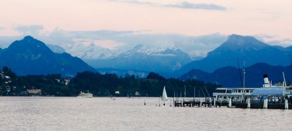 Silvia in Luzern, Schweiz