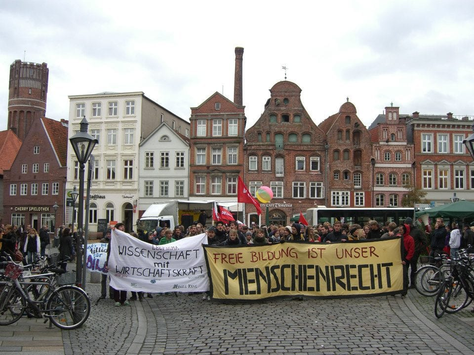 Demonstrationen in Lüneburg 2012 / Bild: (c) Tanja Mühle