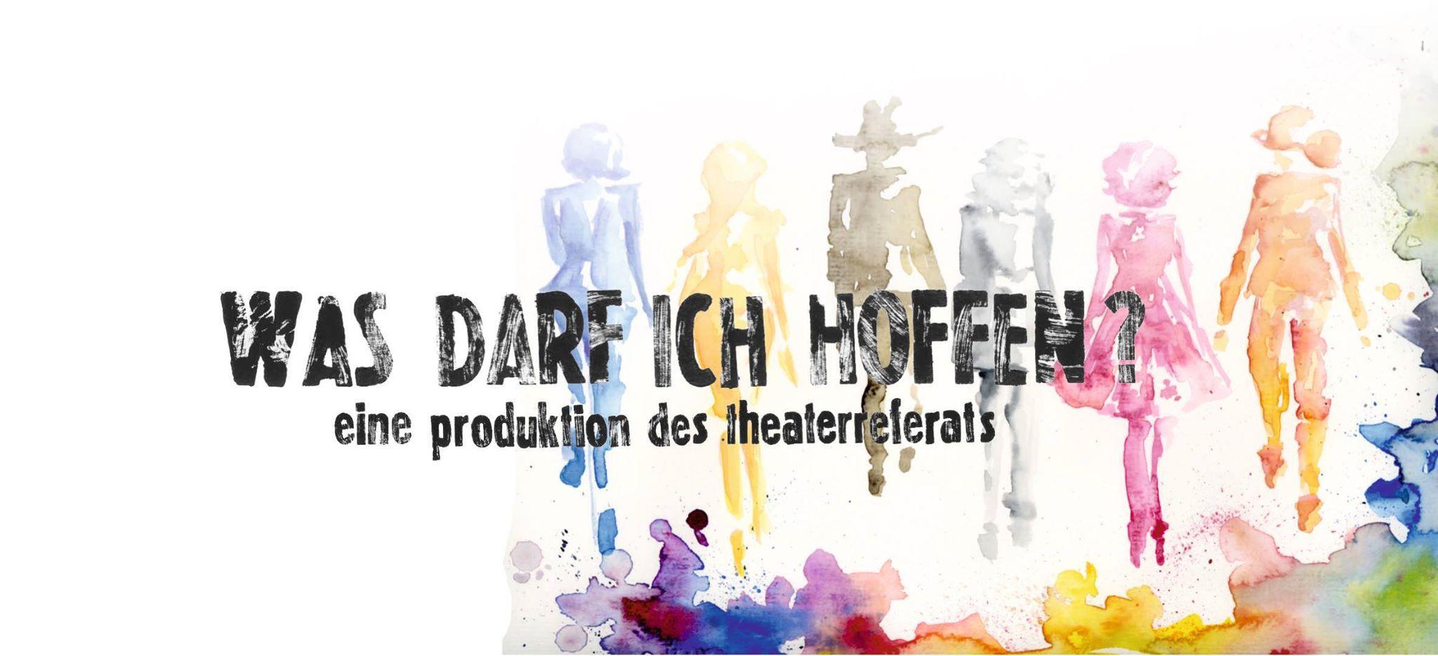 Auch dieses Jahr wieder mit einer eigenen Produktion dabei: das Theaterrefat
