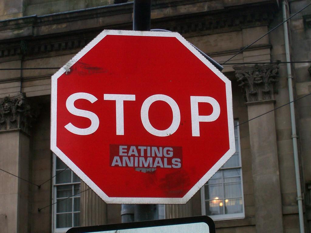 Esst weder Fleisch noch Fisch und nutzt keine Pelze / (CC) flickr - incurable_hippie
