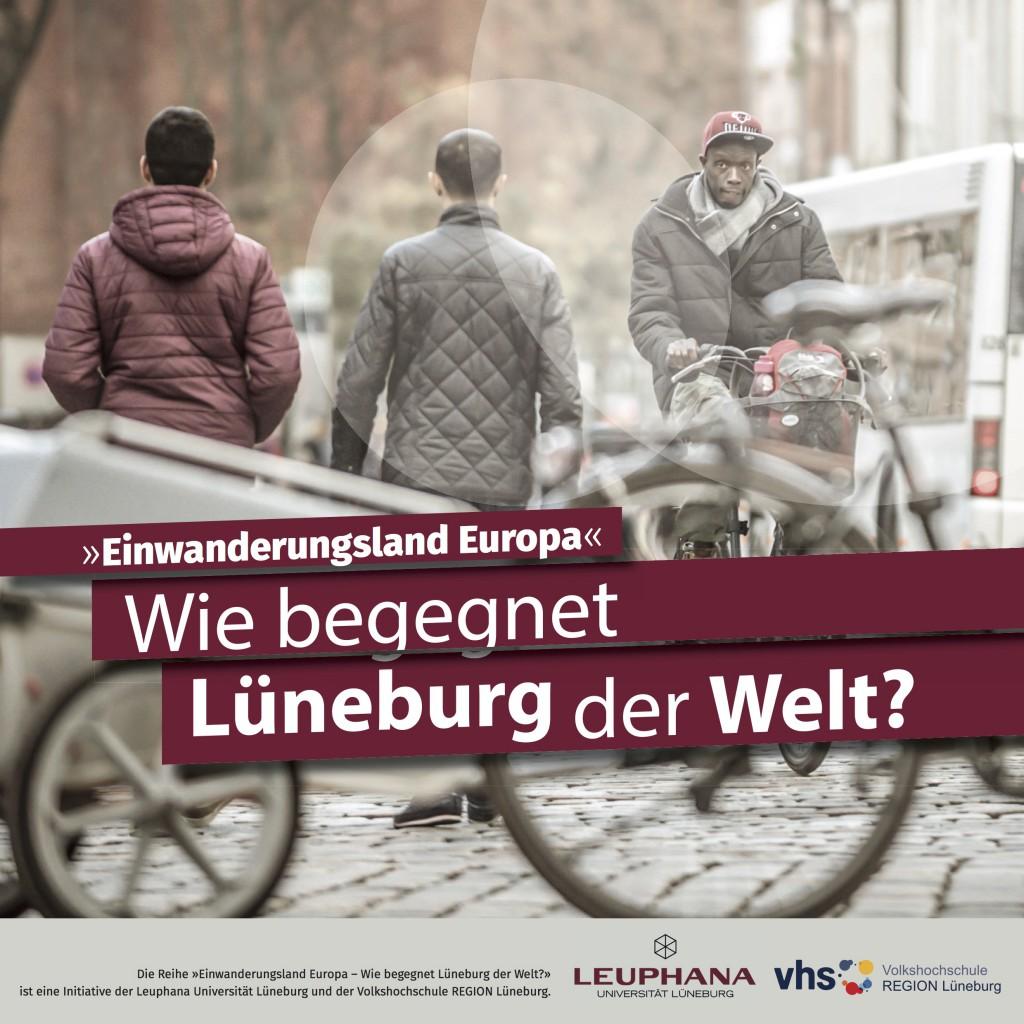 Flyer zur Veranstaltungsreihe / (C) Leuphana Universität Lüneburg
