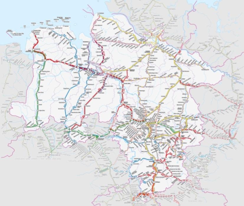 Screenshot der LNVG Karte / (C) Christopher Bohlens / LNVG