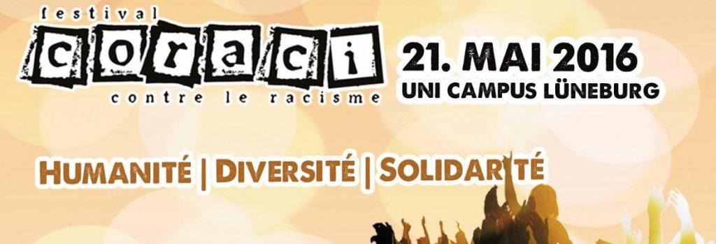 CORACI – festival contre le racisme Lüneburg / (C) CORACI