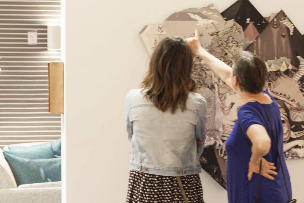 Kunst und Möbel verbinden bei Crull / (c) M&H Fotografie