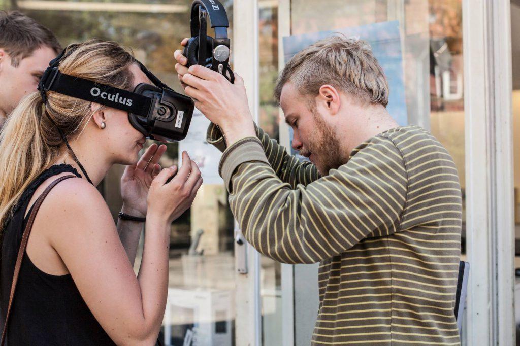 Virtuelle Realitäten im Interactive Gaming Lab bei EP / (c) M&H Fotografie