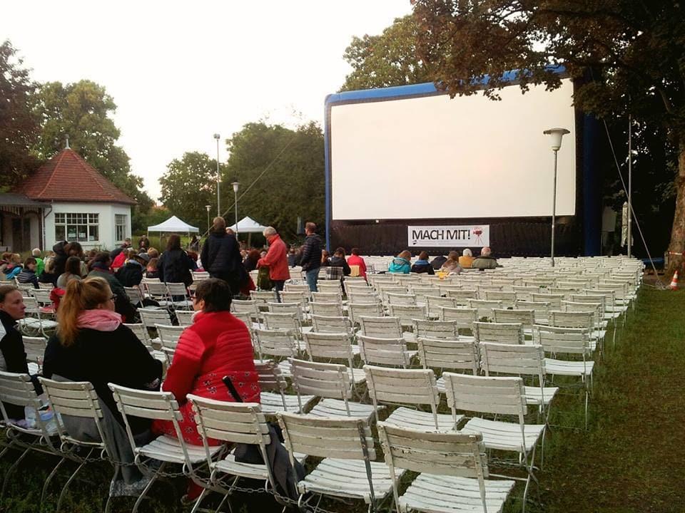 Open Air Kino im Kurpark