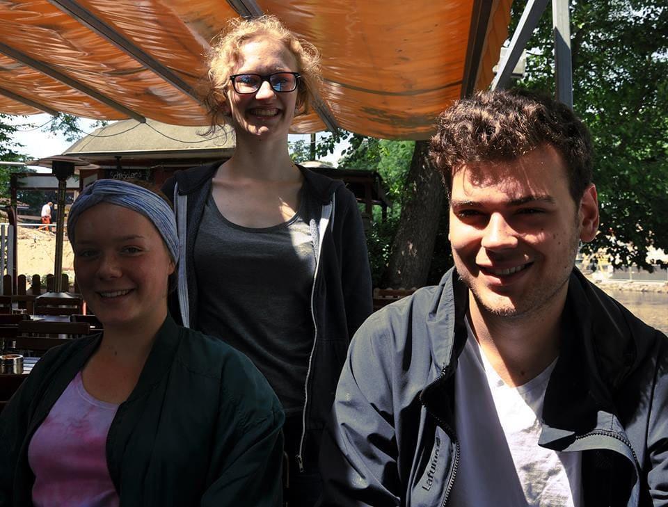 Von links nach rechts: Johanne Hobel, Henriette Heus, Max Giesler. / (C) Sophie Godding