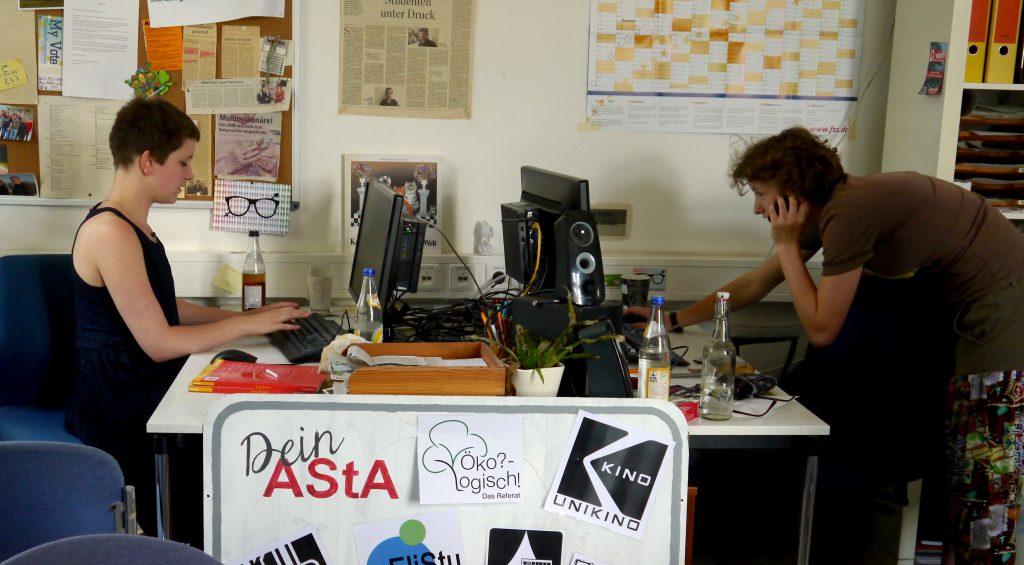 Inside AStA – eine Woche beim AStA-Sprecher*innenkollektiv