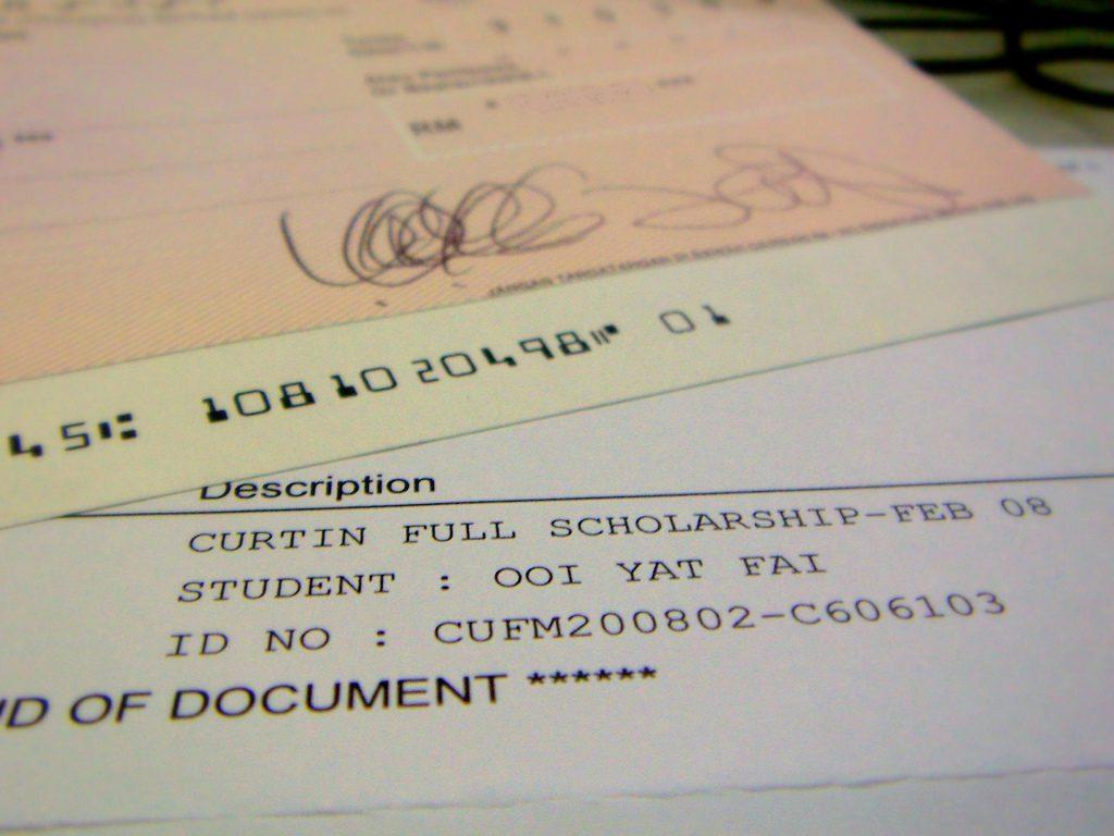 Stipendien-Infoveranstaltung am Mittwoch