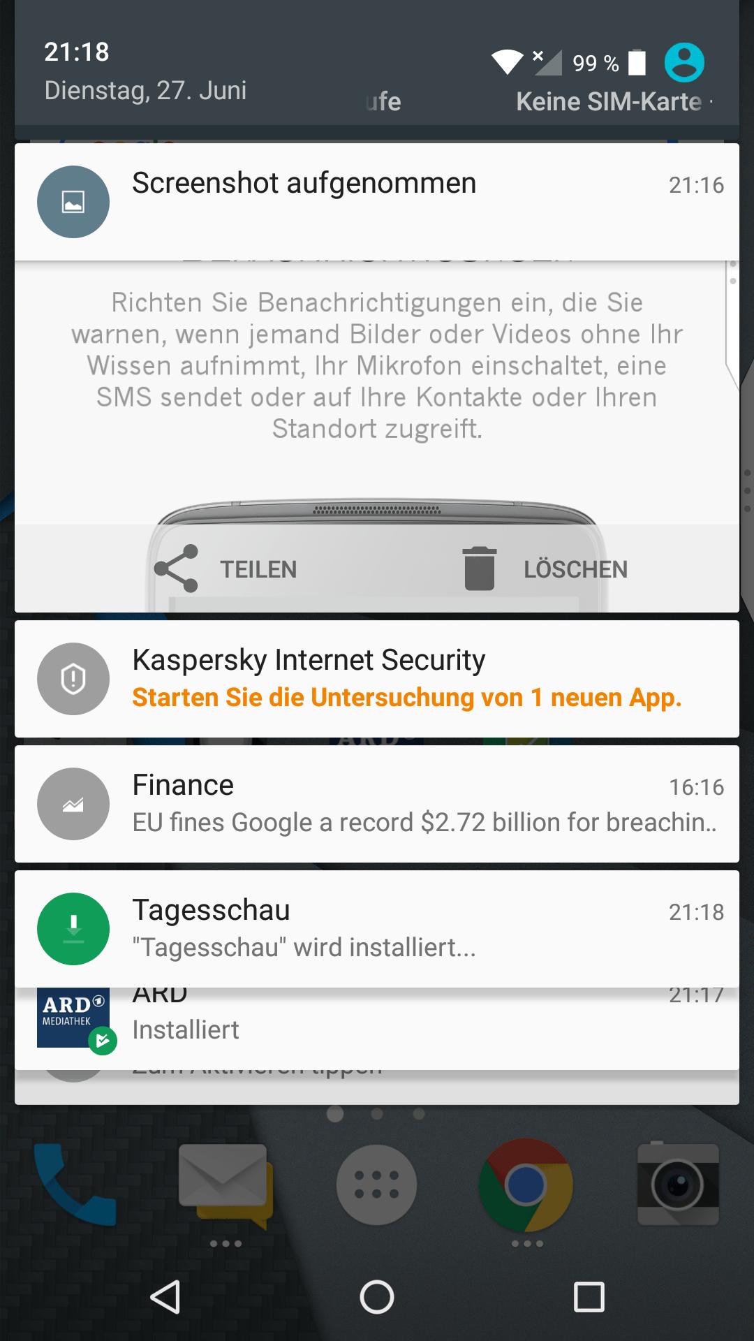 Univativ testet: Merkel Phone Light (BlackBerry DTEK50)