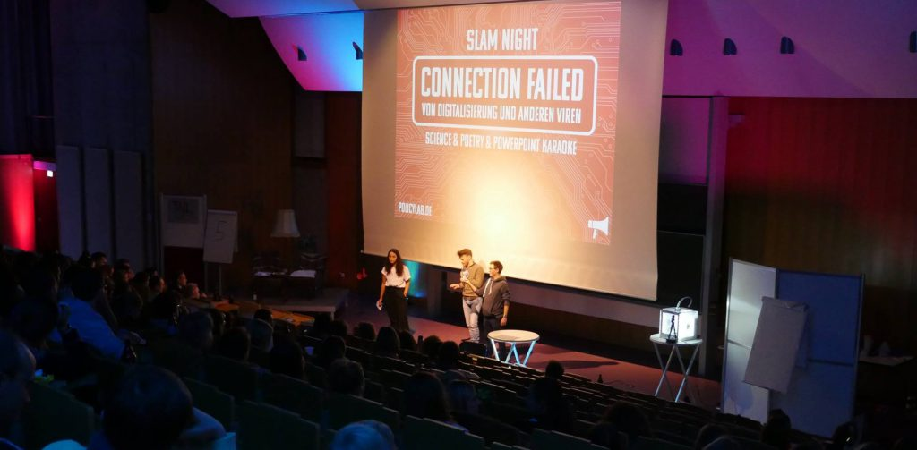 Connection? Accomplished! – Nachbericht zur Slam Night des Policy Labs