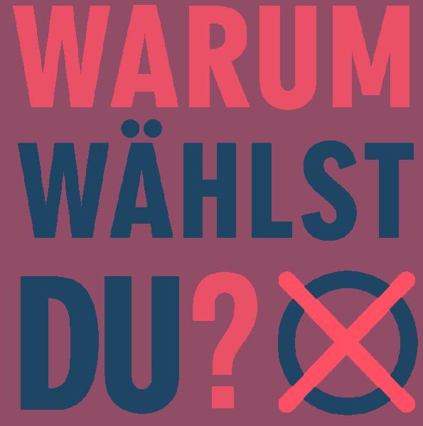 Logo - Warum wählst du - (c) Correctiv