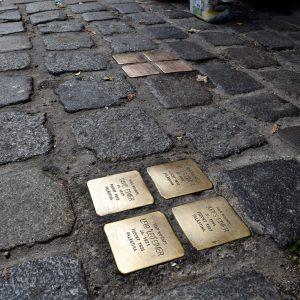 Stolpersteine - Orte der Erinnerung