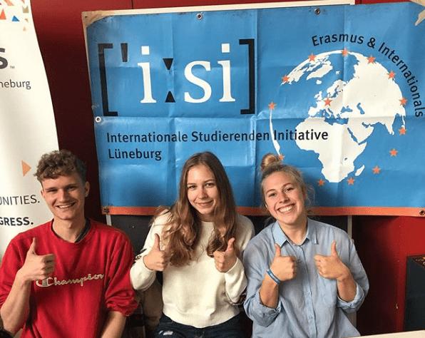 Screenshot Der ISI-Stand in der Eröffnungswoche - Instagram: @isilueneburg - (c) ISI Lüneburg e.V.