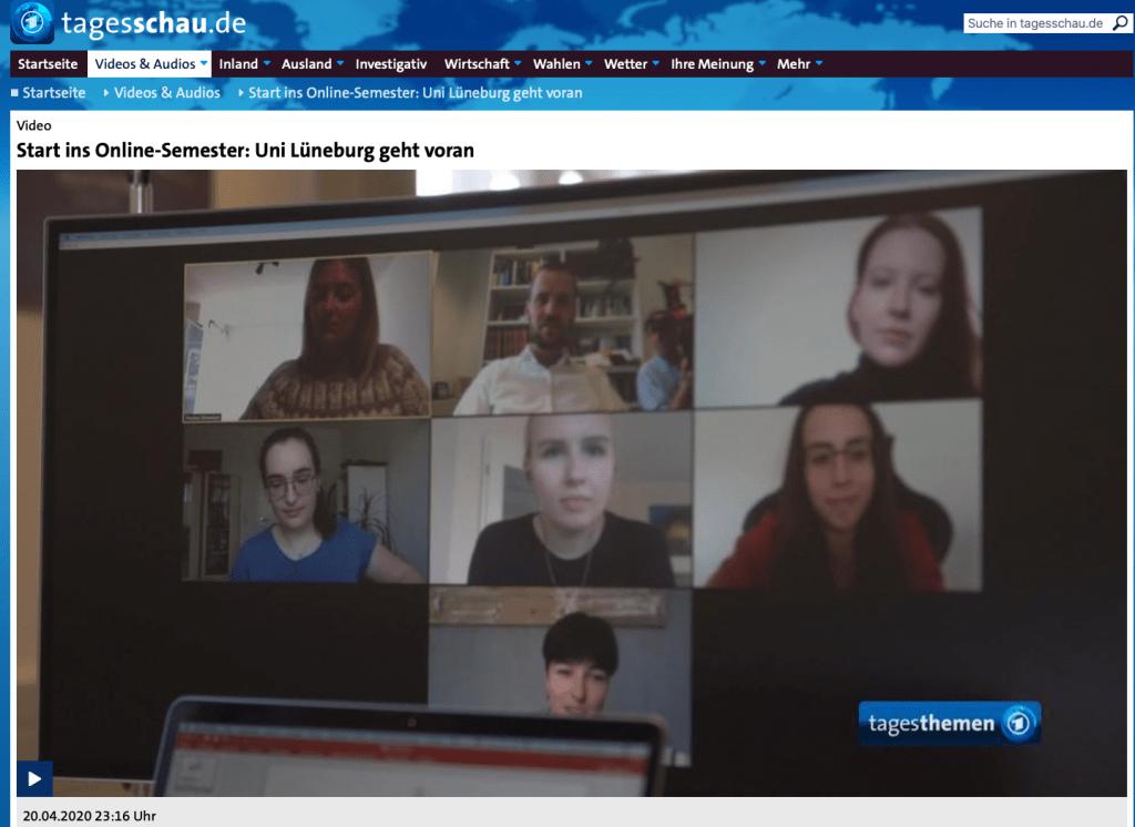 Digitale Lehre an der Leuphana – Läuft alles einwandfrei?
