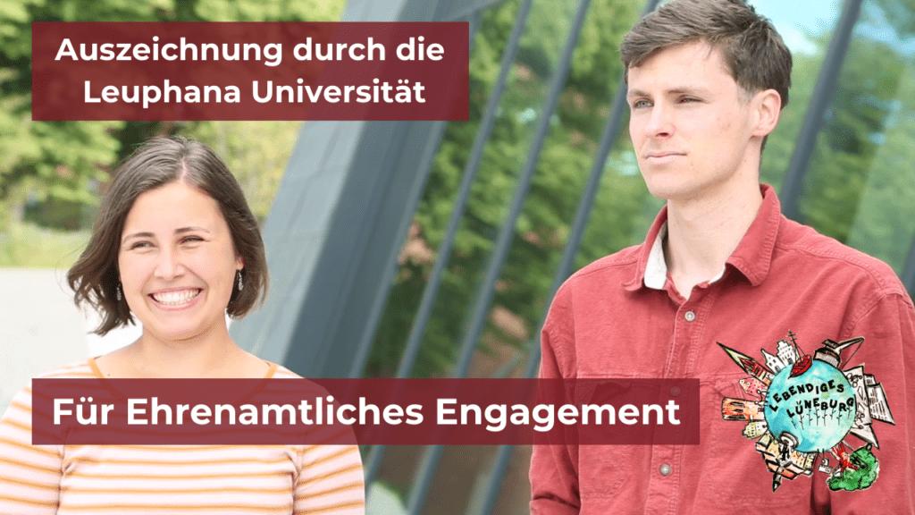 Leuphana zeichnet ehrenamtliches Engagement von Studierenden aus – Lebendiges Lüneburg