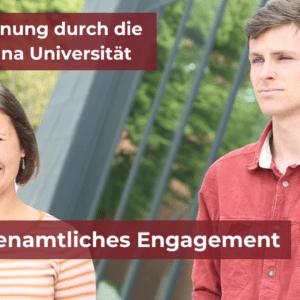 Leuphana zeichnet ehrenamtliches Engagement von Studierenden aus - Lebendiges Lüneburg