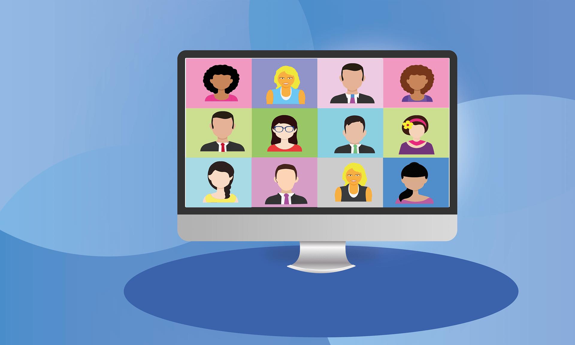 Videokonferenz Pc Computer Business Digital Zoom - (c) Pixabay