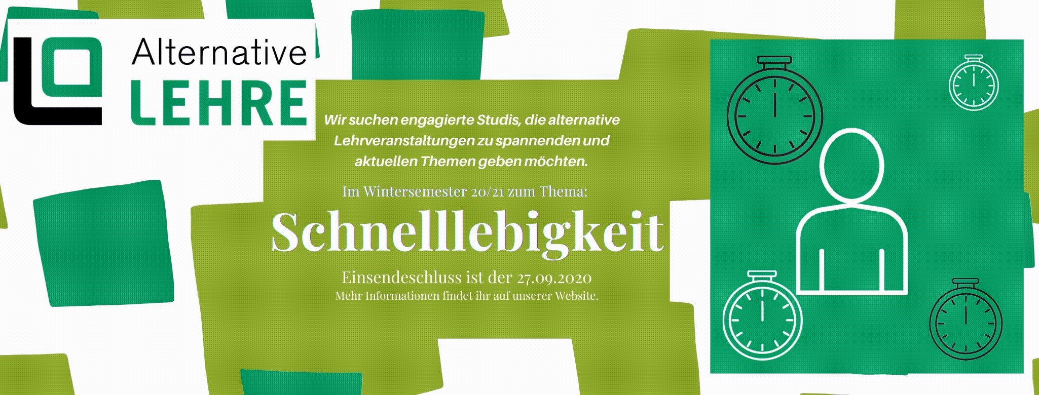 Alternative Lehre - Schnelllebigkeit - (c) AStA Uni Lüneburg