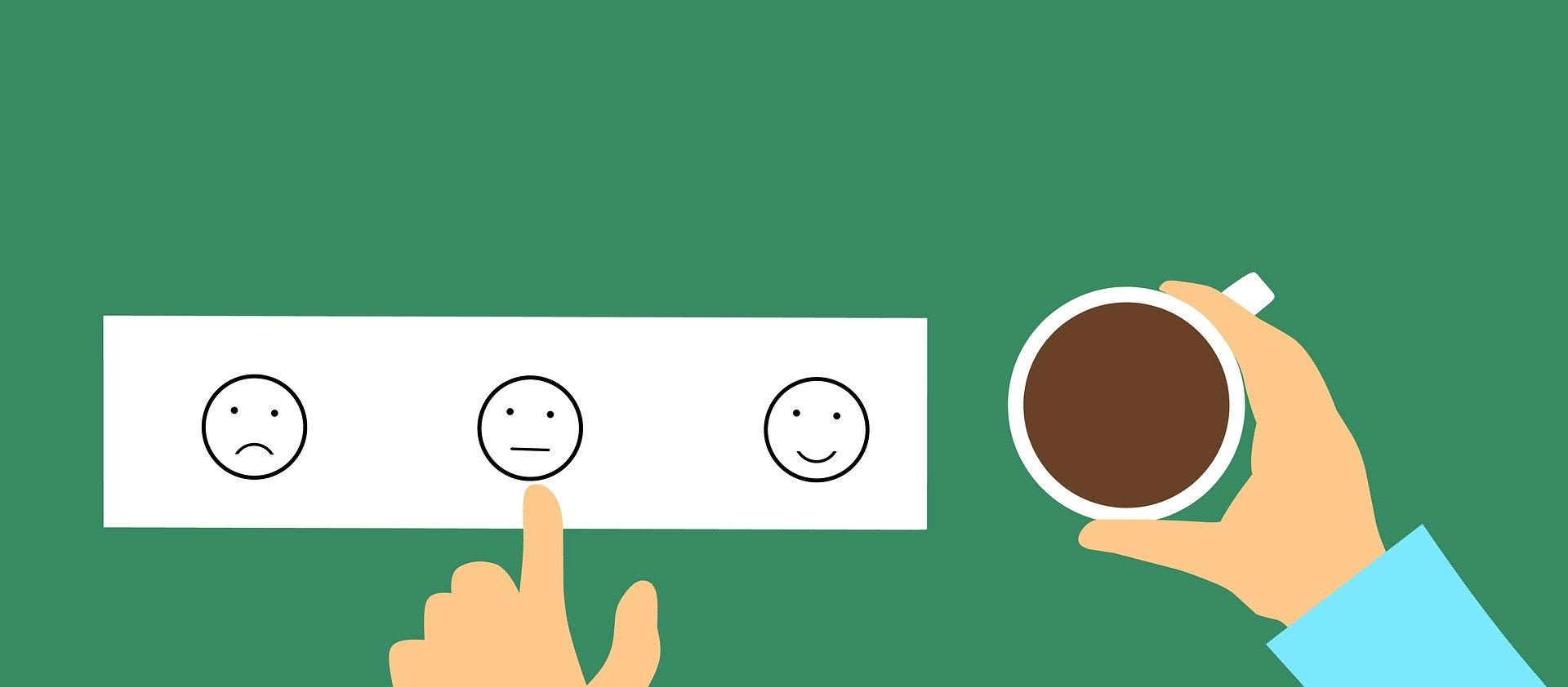 Rückmeldung Zufriedenheit Mitarbeiter Umfrage Kunde - (c) Pixabay